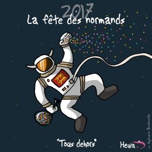Heula astronaute Fête des normands 2017
