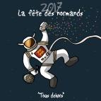 Heula dessine pour la Fête Des Normands 2017.