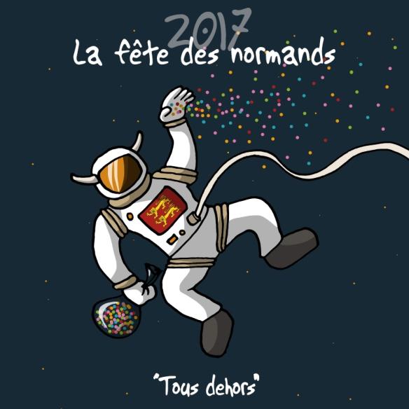 Heula Fête des normands 2017 astronaute