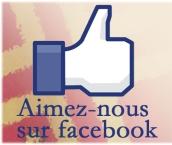 Aimez-nous sur facebook
