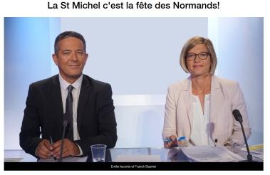 Spécial Fête Des Normands sur France 3 Normandie pendant 4 jours du 29 sept. au 02 oct. 2017
