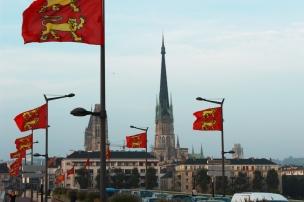 Fête Des Normands 2013 à Rouen (Pont Corneille). Photo Chloé S. Herzhaft