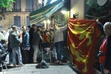 Fête Des Normands, dans un bar rouennais. Photo Chloé S.Herzhaft
