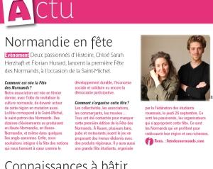Rouen Magazine, édition 2013.