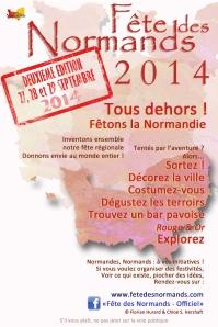 Tract Fete Des Normands 2014 (lever de Normandies)  - francais