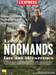 """""""Les Normands face aux idées reçues"""", L'Express - avril 2014"""