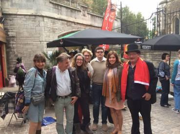 Londres, avec l'Association Français du Monde ADFE Royaume-Uni. Fête Des Normands 2014.Photo Chloé S.Herzhaft.