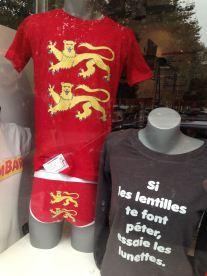 Rouen, un commerce. Fête Des Normands 2014. Photo fournie par l'Organisateur.