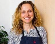 Caroline Vignaud, marraine de la Fête Des Normands 2016, chef normande, investie pour la gastronomie durable. Photo