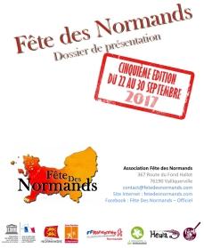 Fete Des Normands 2017 - Dossier de presentation-1