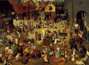 fete-médiévale-combat-de-carnaval-et-de-careme
