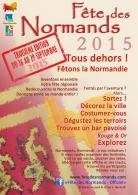Affiche Fete Des Normands 2015 - francais
