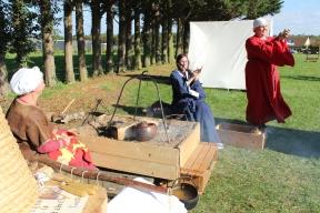 Fidelis Normannorum, Lantheuil. Fête Des Normands 2015. Photo Chloé Sarah Herzhaft.