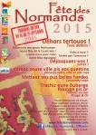 Affiche Fete Des Normands 2015 - normand-francais