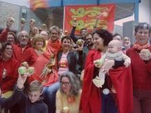 Chez les Robins Des Bio, Fête Des Normands 2015. Photo Robins des bio.