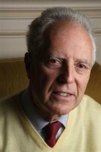 Jean-Pierre Chaline, président des Amins des monuments rouennais. (Photo André Morelle)