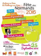 Affiche Fête Des Normands 2016 à Arelaune en Seine