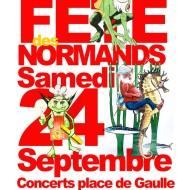 Affiche Fête Des Normands 2016 à Cherbourg