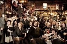 Fête Des Normands à Montréal, au Pub restaurant L'Auberge du dragon rouge.