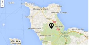 Picauville-carte