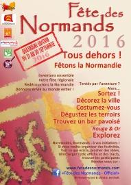Affiche Fete Des Normands 2016 - francais