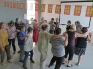 Danse Aeroplane. Danses traditionnelles, La Chouque. Fête Des Normands 2016. Photo fournie par l'organisateur.