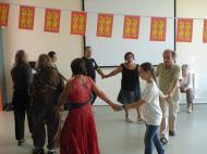 Branle de village. Danses traditionnelles, La Chouque. Fête Des Normands 2016. Photo fournie par l'organisateur.