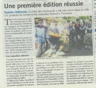 Fête Des Normands 2016 à Sainte-Adresse