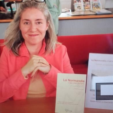 Rencontre/dédicace, Médiathèque Anne Franck (76), 16 septembre 2017.