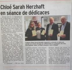 Article dans le Courrier Cauchois, 12 mai 2017.