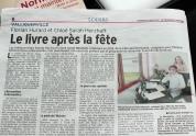 Article dans le Courrie Cauchois, le 24 mars 20107, par Ghislain Annetta.