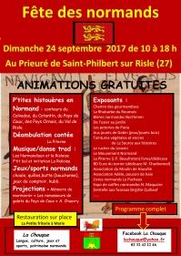 Affiche Fête des Normands