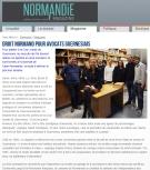 sophie Poirey Magazine Normandie