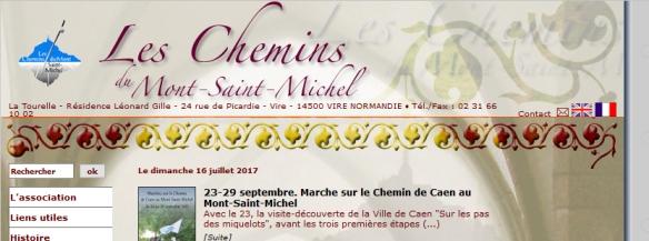 Les chemins du Mont Saint Michel