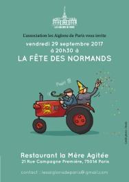 Fête des Normands à La Mère agitée (Paris)