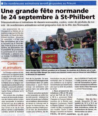 L'éveil de Pont-Audemer 12/09/2017