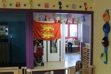 """""""Fête Des Normands - Tous ENSEMBLE Yvetot, Centre Social Saint Exupéry, la Halte Garderie Les Petits Princes, décorés pour la Fête Des Normands 2017."""