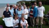 Avec le club de randonnée 27 Mille Pattes. Photo fournie par le club