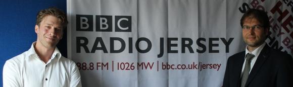 La Fête Des Normands invitée sur les ondes de BBC Jersey, 2017.