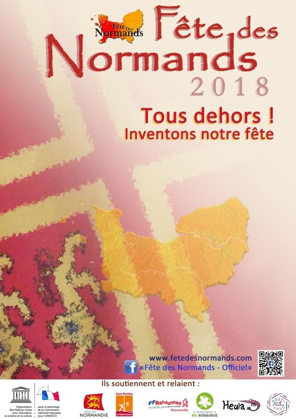 Affiche Fete Des Normands 2018 - francais (vide)