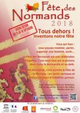 Affiche Fete Des Normands 2018 - francais