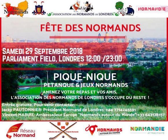 La Fête Des Normands à Londres ! Venez chouler !