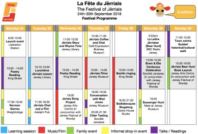 La Fête Des Normands à Jersey : https://www.facebook.com/lafetedujerriais/