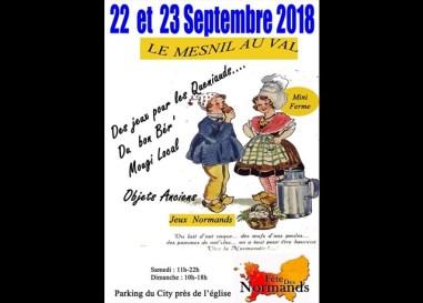 La Fête Des Normands du Mesnil au Val : https://infolocale.ouest-france.fr/le-mesnil-au-val-50305/agenda/fete-des-normands-au-mesnil-au-val_6223355